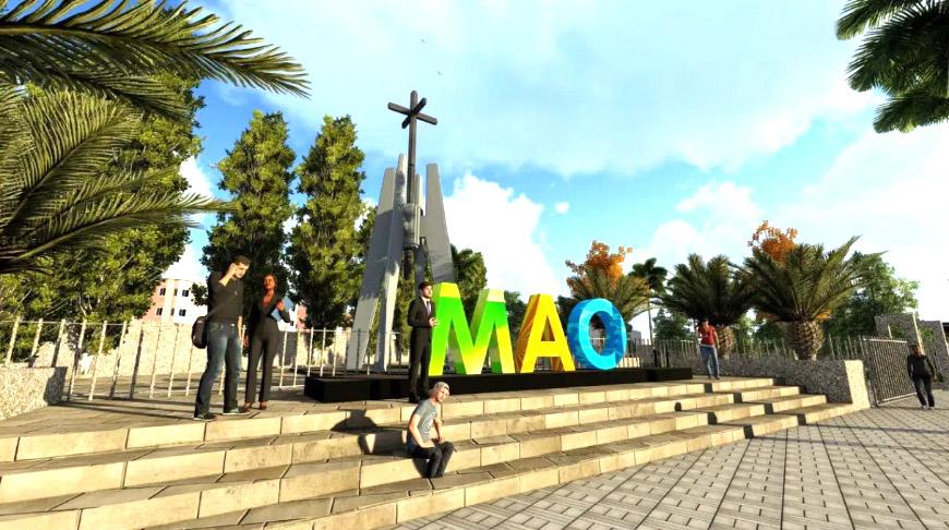 Alcaldía inicia construcción Monumento a La Santa Cruz