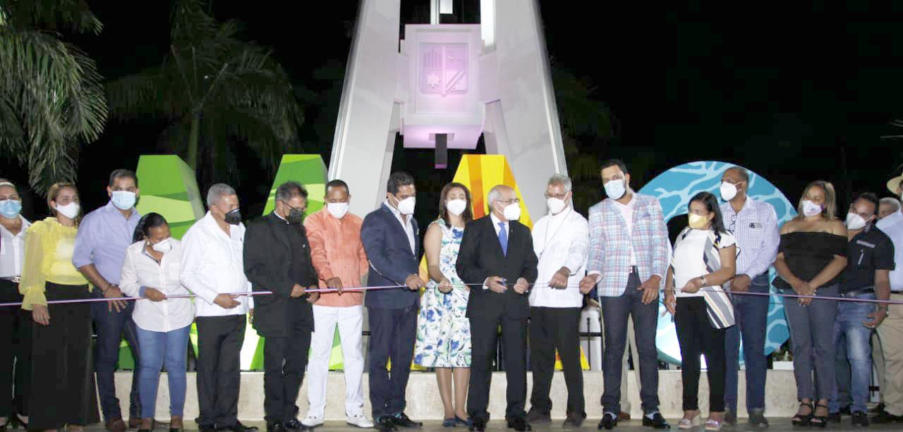 VIDEO – Dejan inaugurado «Monumento a La Santa Cruz de Mao»